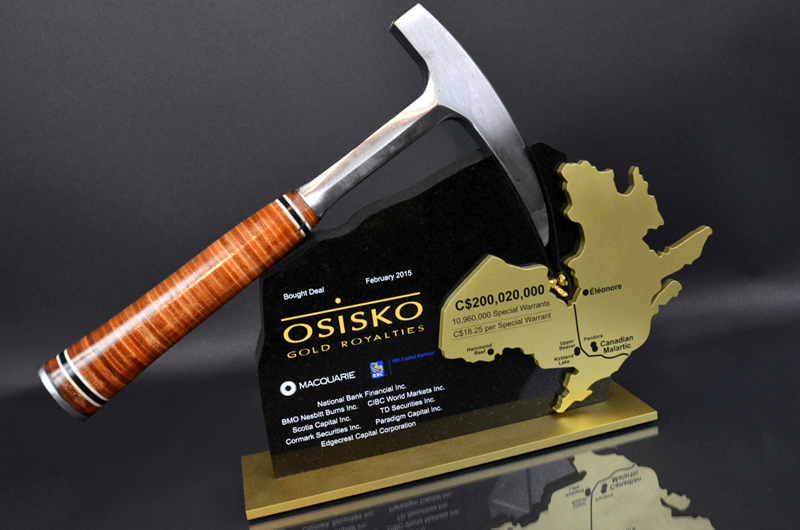 lumaRae Galleries - Osisko Gold Award